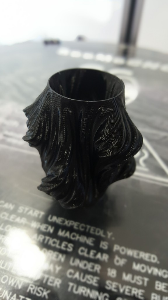 Small Wavy Vase