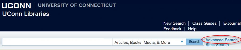 library catalog advanced search