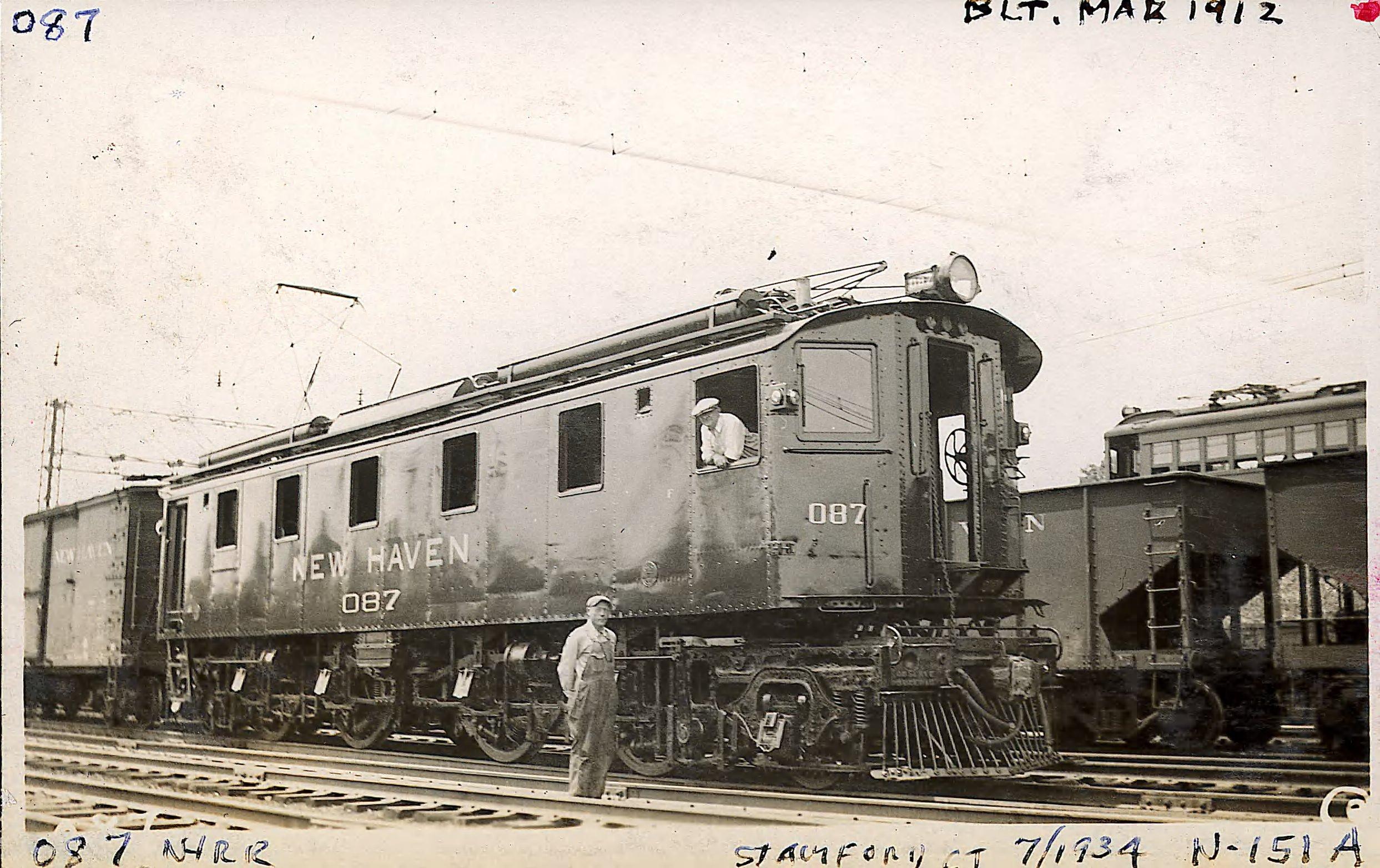Locomotive 087, built March 1912
